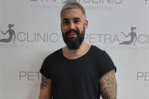 Josef Kůrka in Petra Clinic